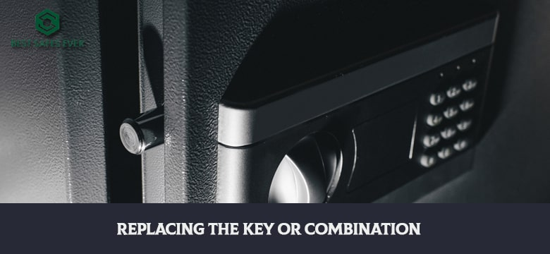 Replacing The Key Or Combination